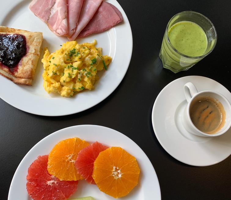 Saga Hotel Frokost